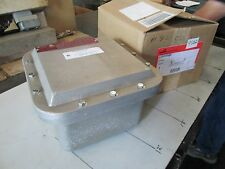 """Cooper-Crouse Hinds X-Proof Enclosure #EJB080806 SA 8"""" X 8"""" X 6"""" Deep (NIB)"""