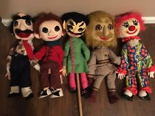 Vintage Puppets Marionettes Hand made 27inch Collection Lot Of 5