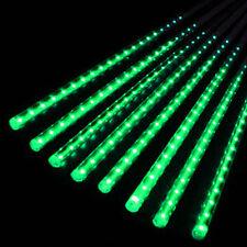 Outdoor Light EU US Plug 30cm/50cm LED Meteor Lights Shower Rain 8Tube Xmas Tree