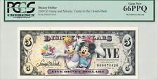 Disney Dollar 2009 D $5 Daisy Minnie D00074426 PCGS 66 PPQ Gem New