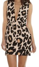FINDERS KEEPERS DRESS PAPER SHIPS LARGE ANIMAL PRINT NWT SZ S