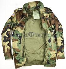 USGI M65 Army BDU Woodland Cold Weather Field Jacket
