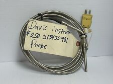 Davis Instruments Inotek Temperature Probe NEW 8' Lead  K48U-006-01A, 204-16-T3A