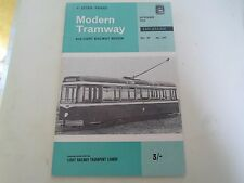 Modern Tramway+Light Railway Review November 1966 + llustrated Vintage Magazine