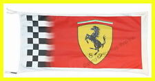 FERRARI FLAG BANNER  CHECKERED  f430 5 X 3 FT 150 X 75 CM