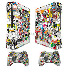 WY92 RBOMB VERSION II decal Sticker for xbox360 Console + 2 controller skins