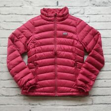 Patagonia Down Sweater Jacket Girls Size XL Puffy Pink