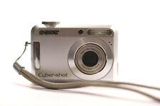 Sony Cyber-shot DSC-S650 7.2MP Digital Camera - Silver