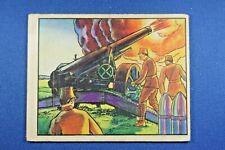 1938 Gum - Horrors of War - #249 Japanese German-type Gun... - VG Condition