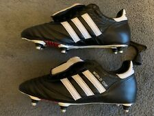Adidas World Cup SG, UK 8.5, Black / White, Worn Once