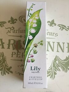 CRABTREE & EVELYN LILY BODY LOTION 245ml *NEW IN BOX*