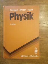 Physik: Ein Lehrbuch zum Gebrauch neben Vorlesungen - Gerthsen Kneser Vogel
