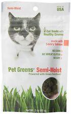 Pet Greens Treats Savory Salmon Semi-Moist Cat treats New