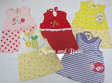 5X Pinafore Baby Girls Summer Spring Sundress 0-3 Months Clothing Size 0000