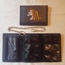Porte Monnaie Bob Marley / Reggae / Jamaique / Drapeau / 13 cm x 9 cm