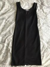 Boohoo Black Bodycon Mini Dress Size 8 Party Casual Special Occasion