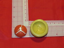Basketball air Jordan silicone mold 263 For Craft Cake Pop Resin Fondant Soap