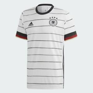 Adidas Men's 2020-2021 Germany Home Football Soccer T-Shirt Jersey EH6105