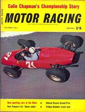 Motor Racing - BRSCC journal - magazine - November 1963