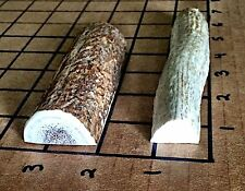 2 Small Split Elk/Deer Antler Dog Chew-Great For Small Dogs Who Love To Chew!