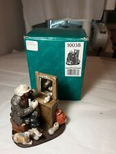 "Emmett Kelly Miniature Figurine ""Making Up"" 4"" High Vintage Rare #10038 Dvg"