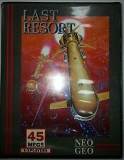 LAST RESORT Neo Geo AES 100 % ORIGINAL NTSC-US