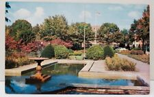 Hagerstown Maryland Pangborn Public Park Postcard A4
