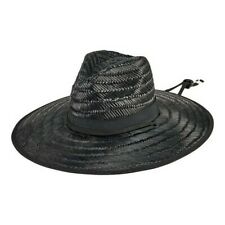 San Diego Hat Company Men's   Moss Lifeguard Straw Hat with X-Large Brim RSM591