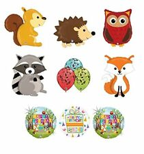 Woodland Creatures Birthday Party Supplies Baby Shower Balloon Bouquet