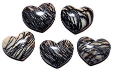 1 x Net Jasper crystal Heart 33mm  Ref:COR.NJH healing crystals minerals