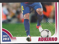 Panini Football Sticker - FC Barcelona 2012-13 Season - No 84 - Adriano