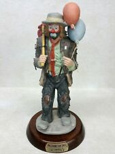 Flambro Emmett Kelly Jr. Signed Figurine Balloons For Sale Limited Edition #314