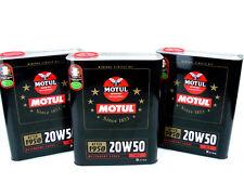3x 2liter MOTUL DE ÉPOCA 20w50 Aceite Clásico 20w-50 MOTOR PARA AB 1950