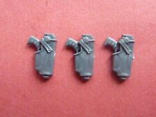 Space Marine Mark IV (4) Armour 3 X BOLT PISTOL in HOLSTER - Betrayal at Calth