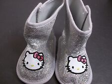 HELLO KITTY  INFANT BOOTS SIZE 6-8 MONTHS SANRIO BABY SHOES