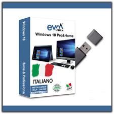 Windows 10 Professional - Chiavetta USB ISO 32&64 bit Pro/Home inclusa Licenza