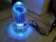 Multicolor Glass LED Mushroom Night Light