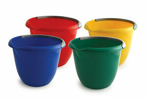 Colour Coded Food Hygiene Strong Household 10L Plastic Bucket with Handle