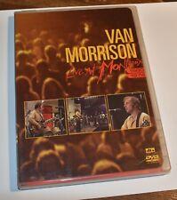 rare Van Morrison dvd set LIVE AT MONTREUX Jazz Festival 1974 & 1980 rock & roll
