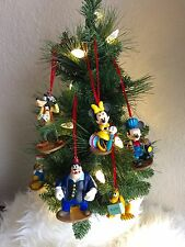 Disney Mickey Mouse Clubhouse Train Station Ornament Set