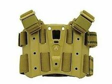 Genuine Blackhawk Coyote Tan dropleg CQC Serpa Tactical Holster Platform 432000P