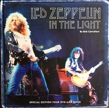 Led Zeppelin In The Light, by Bob Carruthers - 1 Livre   4 DVD