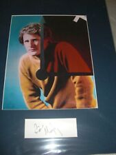 BEN MURPHY AS THE GEMINI MAN MOUNTED AND MATTED SIGNED BY BEN