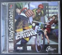 COURIER CRISIS PS1 SONY PLAYSTATION WORKING