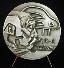 Médaille breton Hervé Morvan Nicolas CARREGA affiche salon de l'auto Bretagne