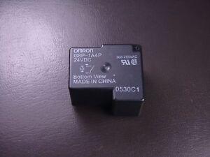 G8P-1A4P-DC24 Omron Relay SPST NO 30A @ 250VAC 24VDC Coil Fully Sealed NOS