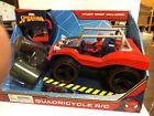 Marvel Spider-Man Quadricycle R/C 27MHZ Stunt Ramp Included Age 3+ New