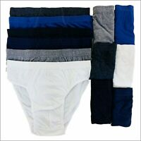 New 12 Packs Mens Briefs Slips Classic Underwear Hipsters Cotton Pants S-5XL LOT