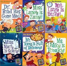 My Weird School DAZE Childrens Series by Dan Gutman PAPERBACK Set of Books 7-12