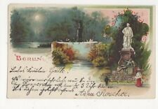 Berlin Germany 1903 Chromo Litho Postcard 472a